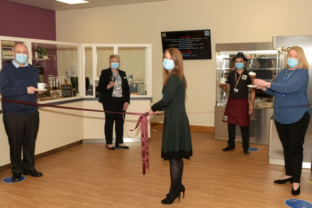 New Bramble Café opens at Crosshouse hospital