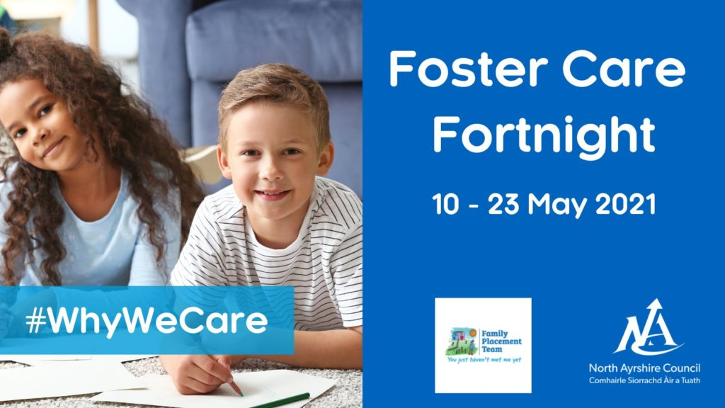 Can you help a child during Foster Care Fortnight?