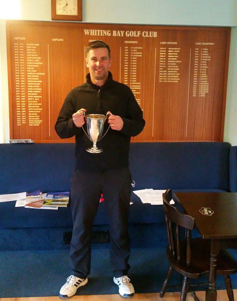 David takes the honours in AGA Spring Handicap