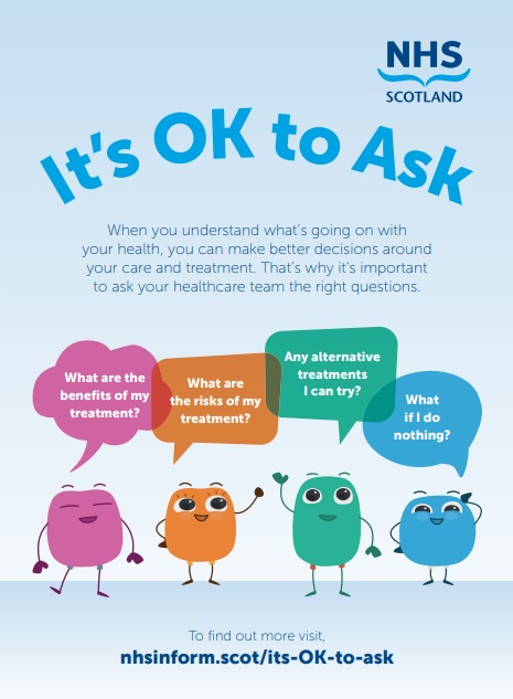 It's OK to Ask campaign launched