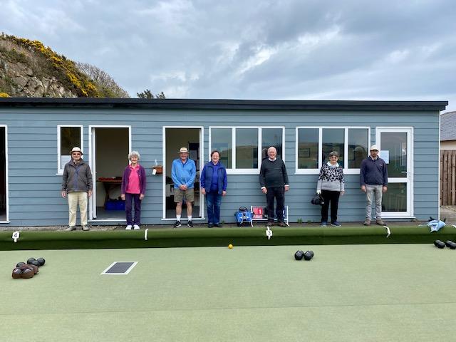 Bowling is back at Blackwaterfoot Bowls Club