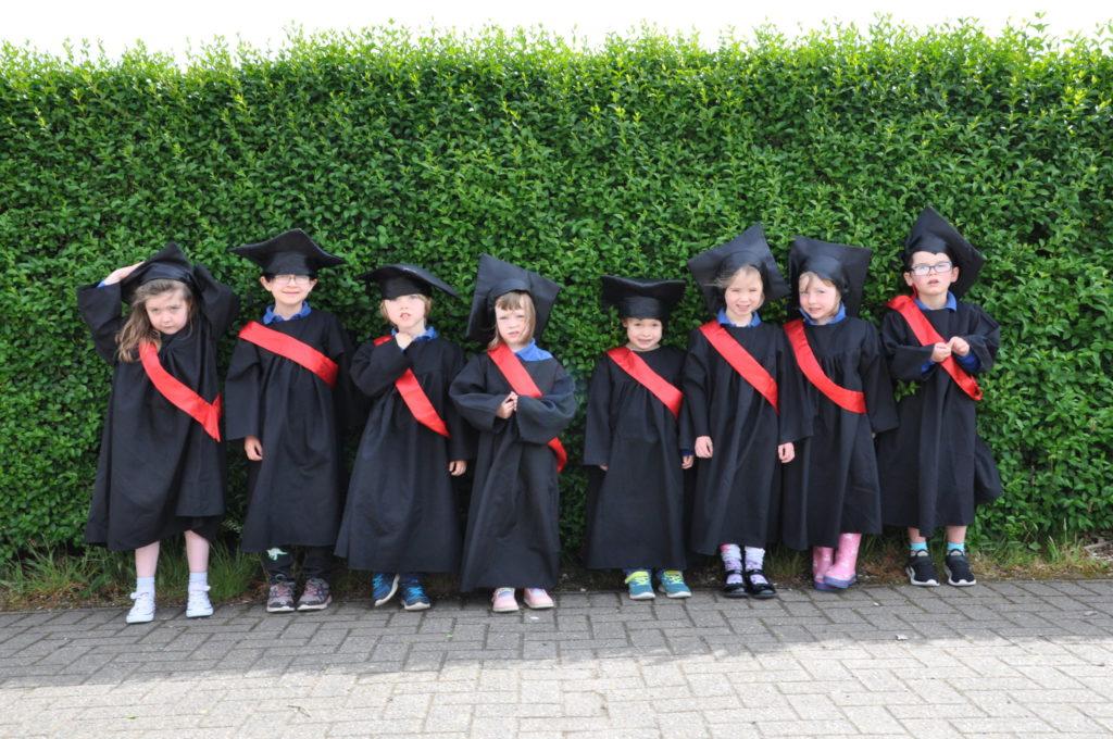 Tiny tots graduate to big school