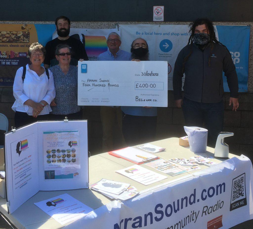 Funding boost for Arran community radio station