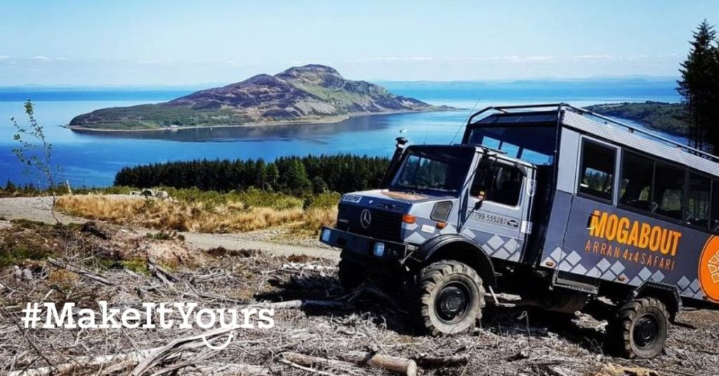 Arran tourism promoted in new Make It Yours campaign