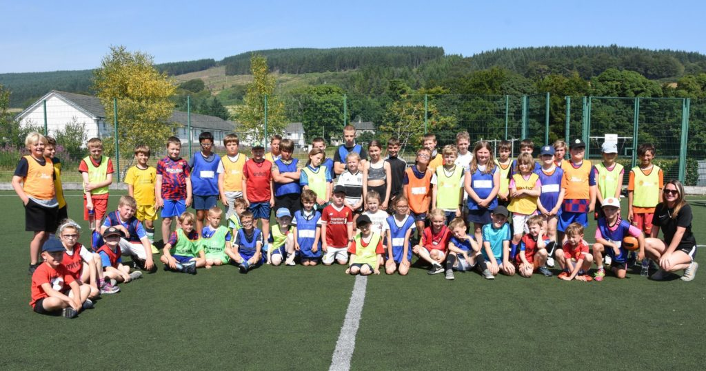 Silky skills on show at summer camp