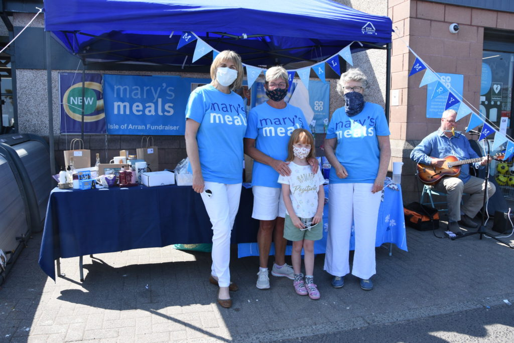 Mary's Meals fundraising success