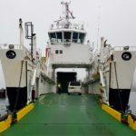 A ferry service runs from Claonaig to Lochranza.