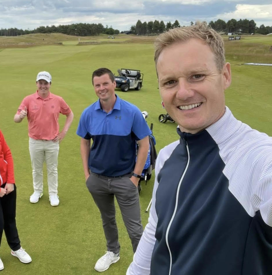 Ewan's selfless efforts recognised with golfing prize