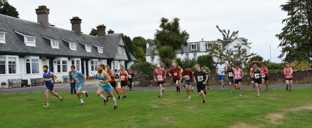Runners take on steep challenge in trail race
