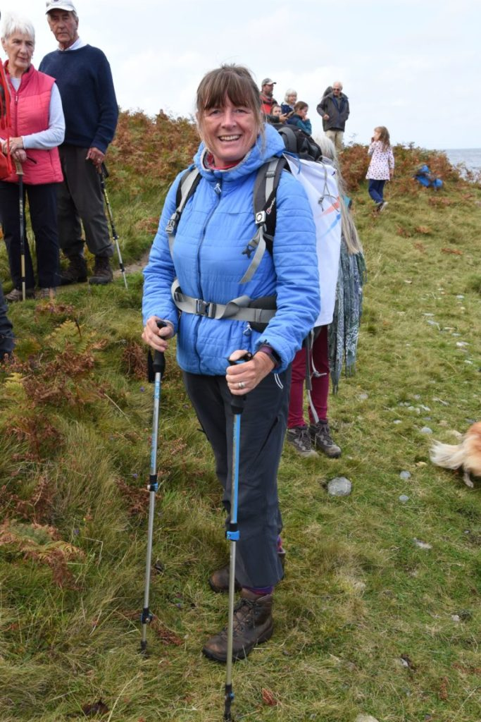 Charity champion completes her 11,000-mile coastal challenge
