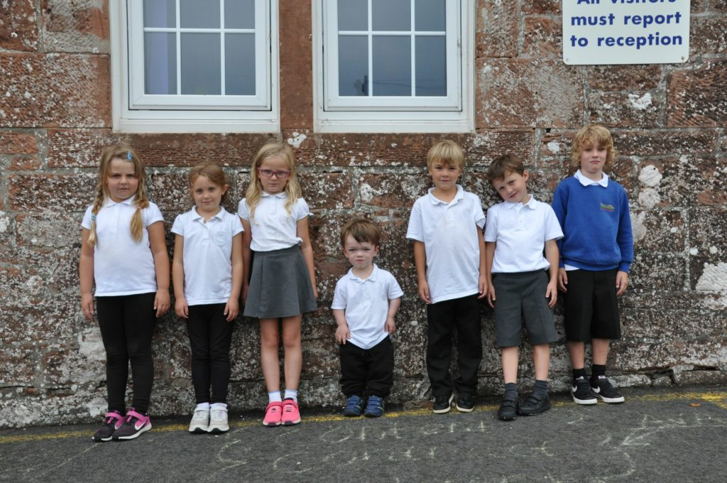 Settling in well as 'Covid generation' start primary school