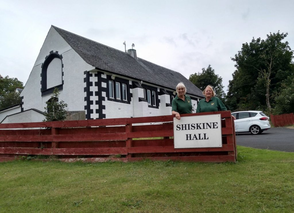 Call for the community to support their village hall