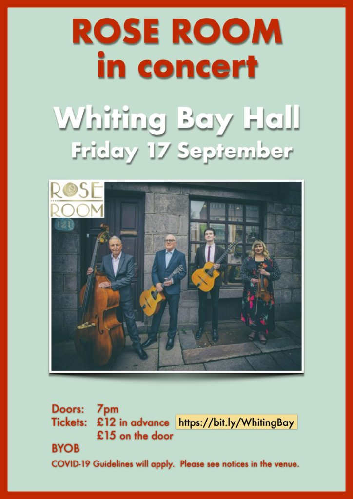Jazz band to play in Whiting Bay
