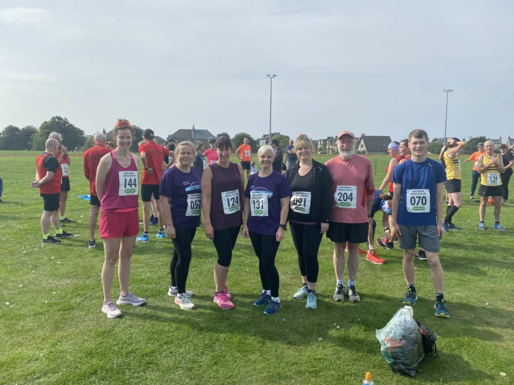Arran runners compete in Saltcoats