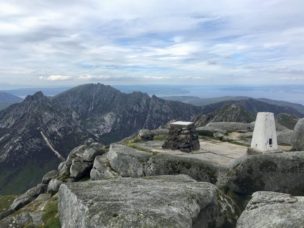 Help at hand to get up Goatfell