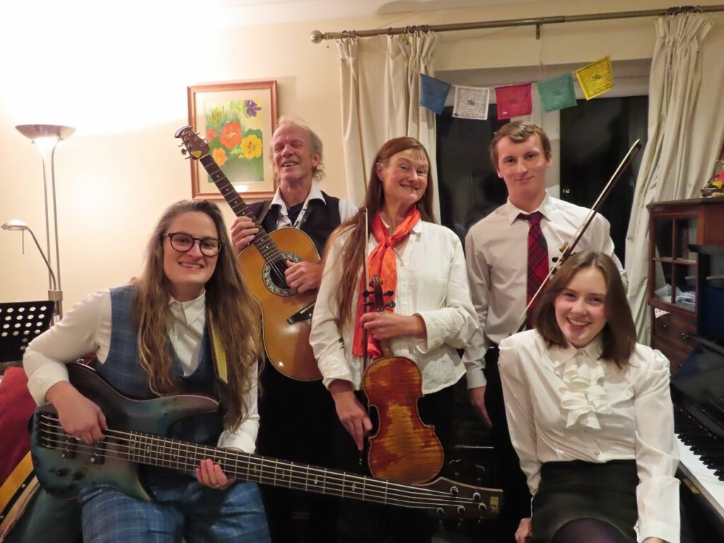 A new ceilidh band is born