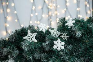 light Christmas decor
