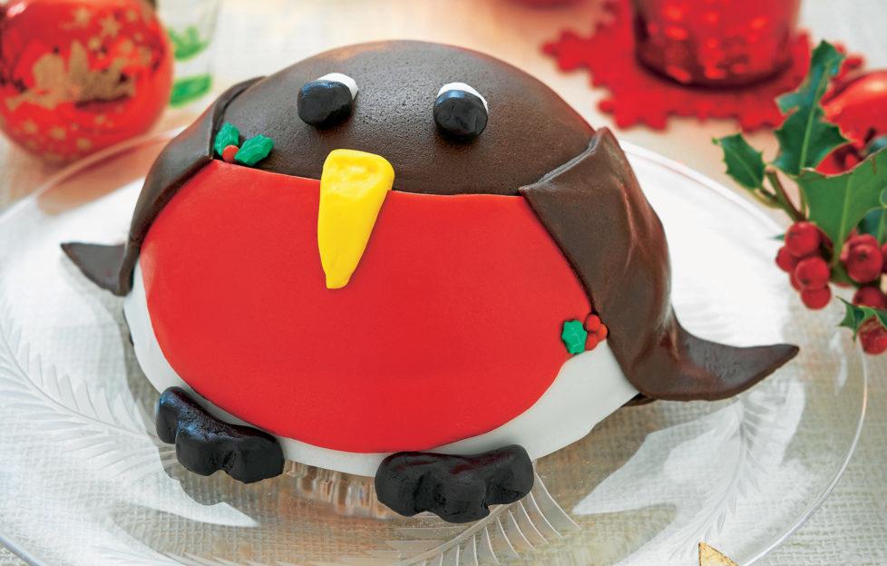 Robin red breast cake