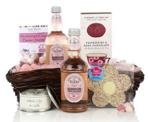 Gin and Sweet Treats Basket