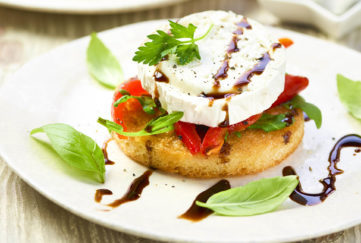 Goats Cheese Croutes