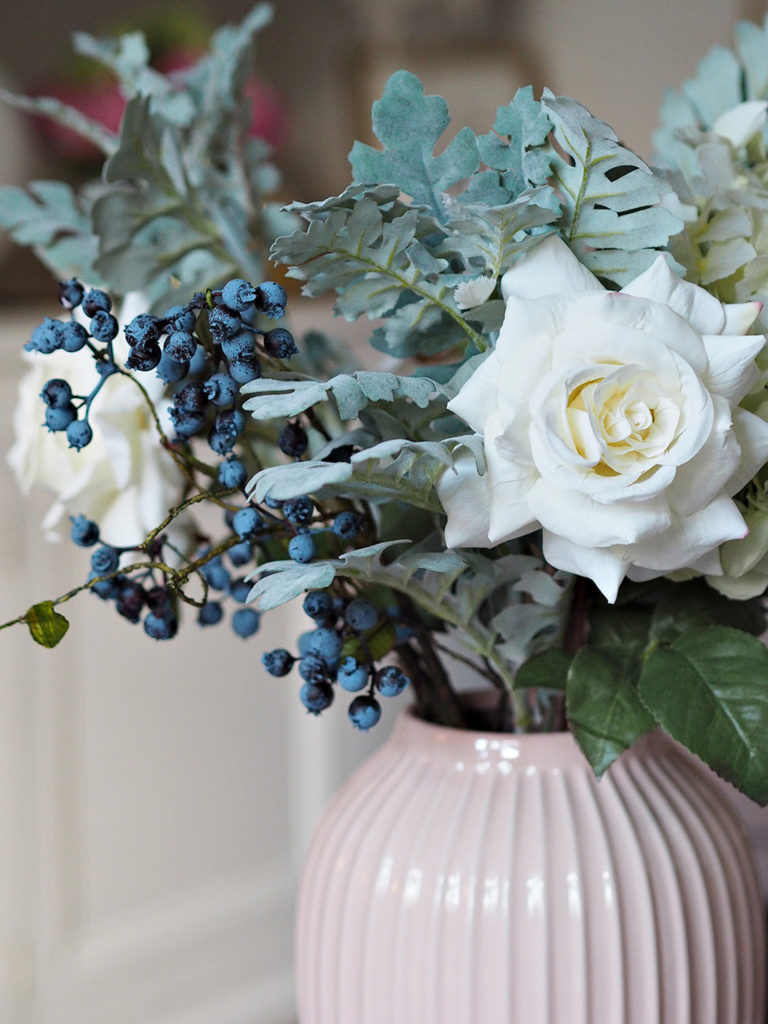 White Serenity Faux Bouquet