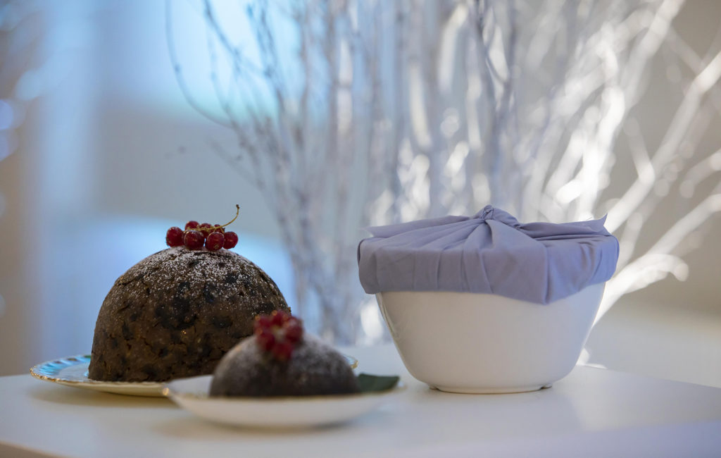 Ceramic Basin Christmas Pudding from Lidl.