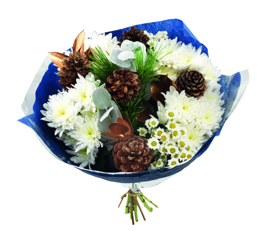 Glamorous Christmas bouquet