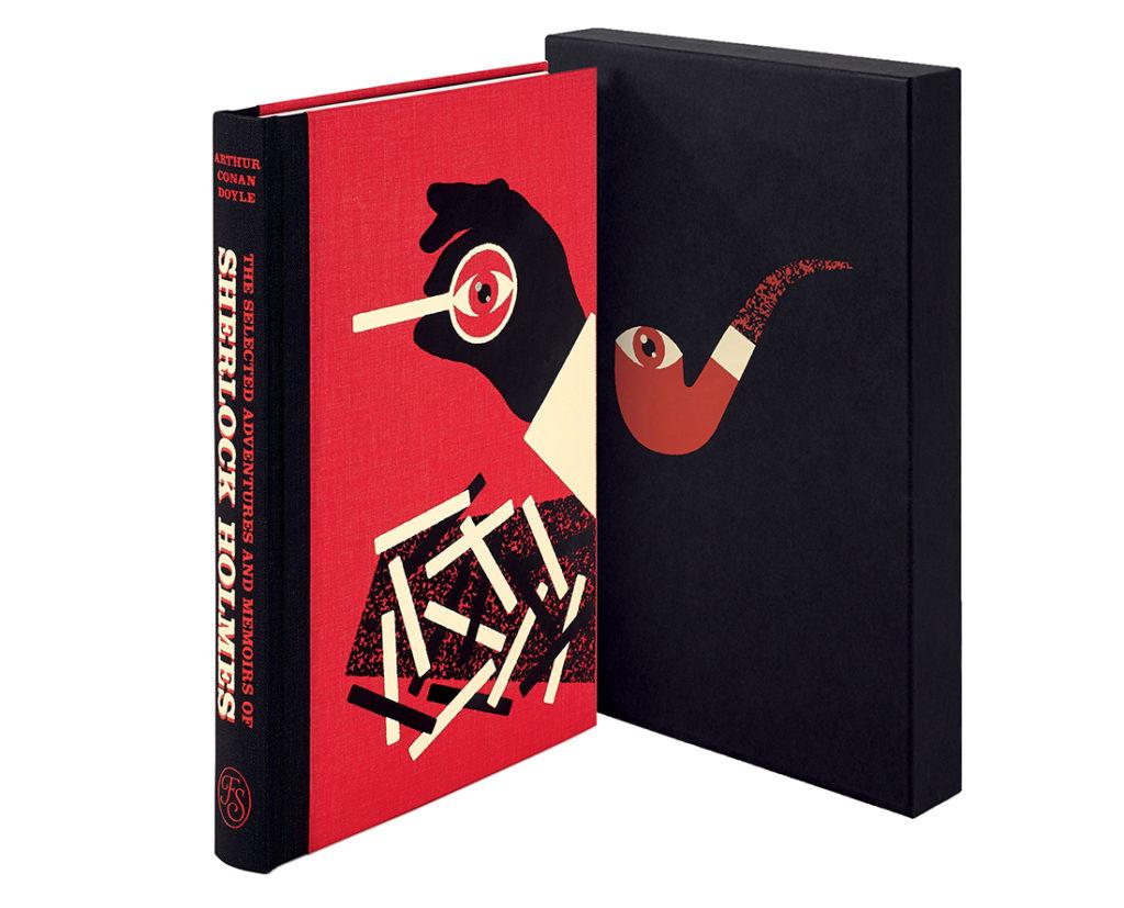Sherlock Holmes book from The Folio Society