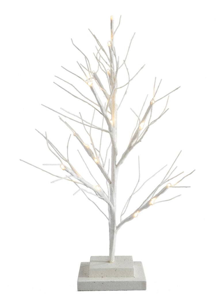 Small Pre Lit Twig Tree