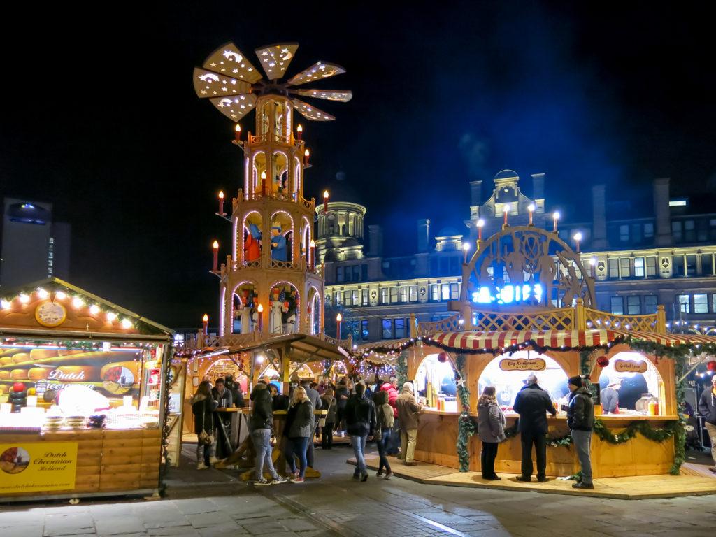 Manchester Christmas market Pic: Istockphoto