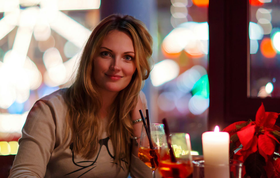 Lady drinking at a Christmas market Pic: Istockphoto
