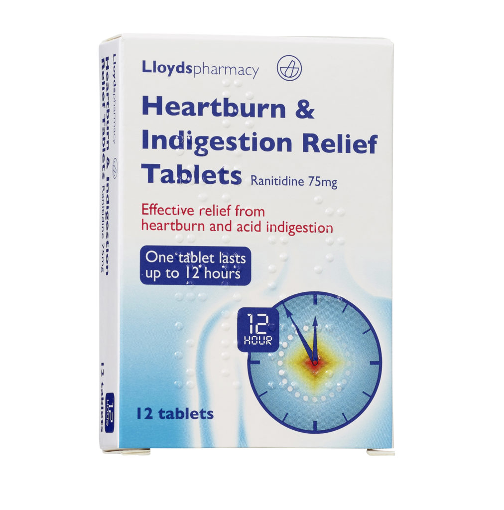Heartburn & Indigestion Relief Tablets