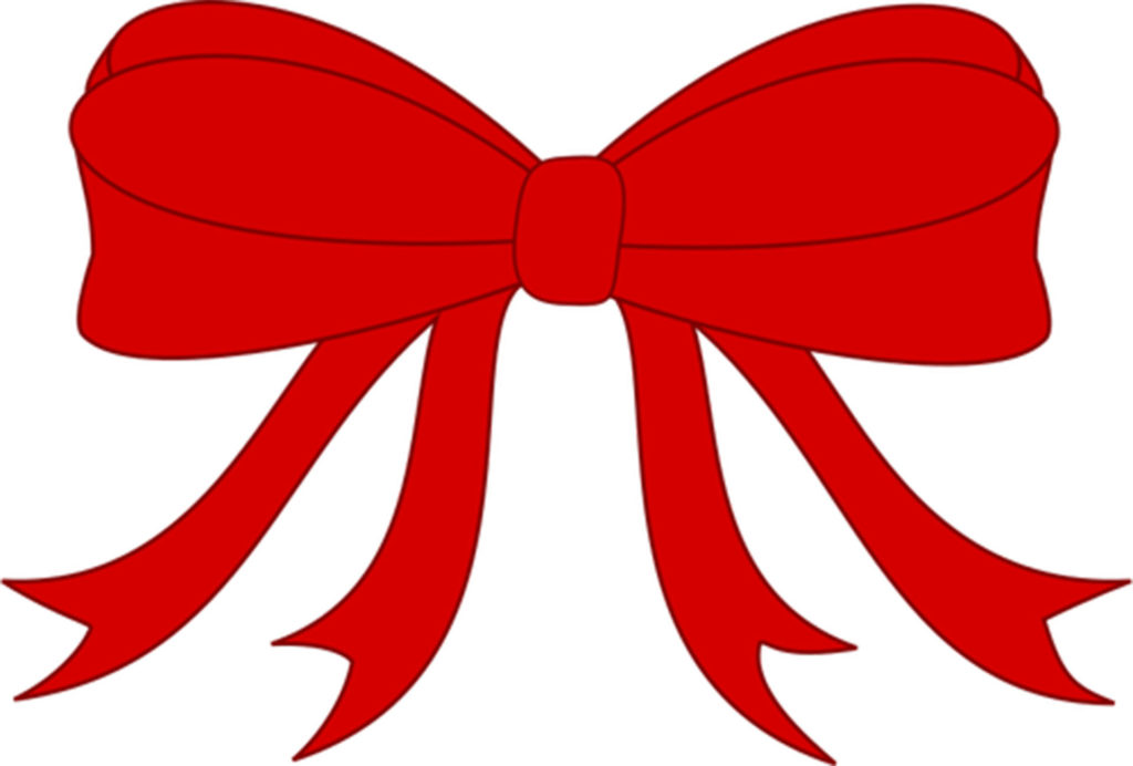 Drawing of red ribbon