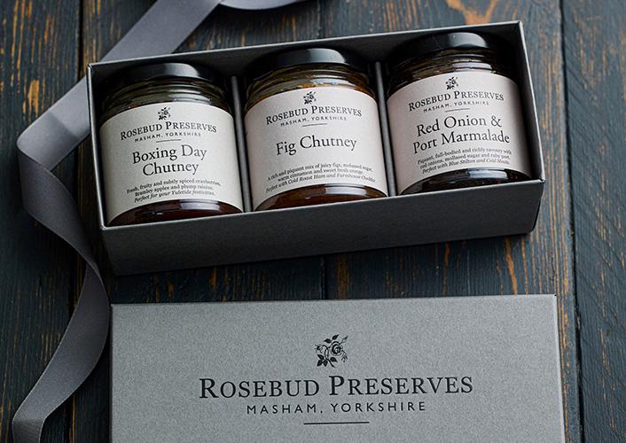 Rosebud Preserves Trio