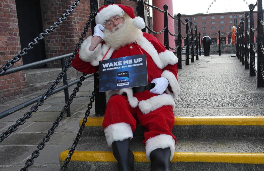 Santa in Liverpool