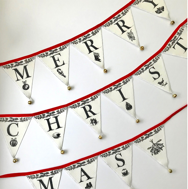 Crumble Cottage Bunting