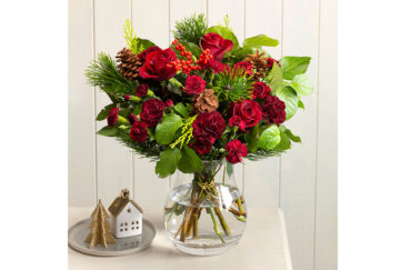 Christmas Flower Arrangement