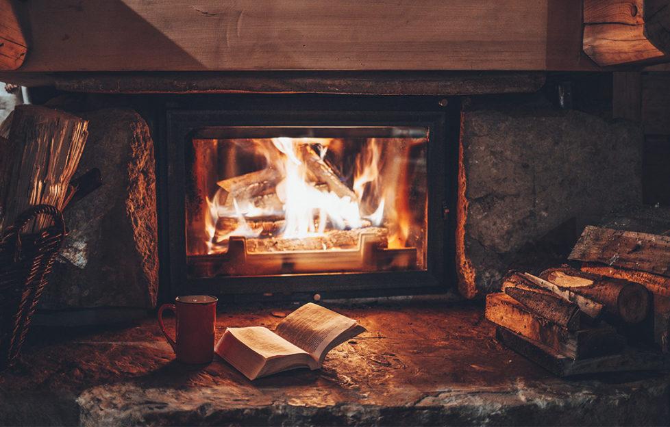A cosy open fire Pic: Shutterstock