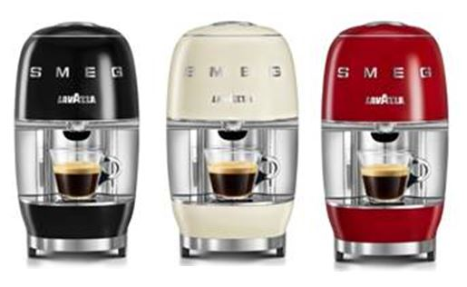 Coffee makers in 3 colours