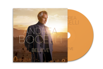 Andrea Bocelli Believe Album cover