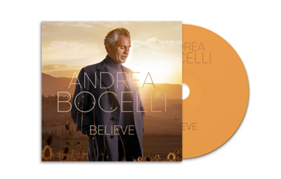Andrea Bocelli Believe Album cover