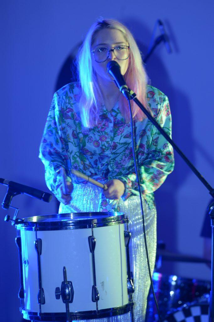 Charlotte Brimner's drum solo