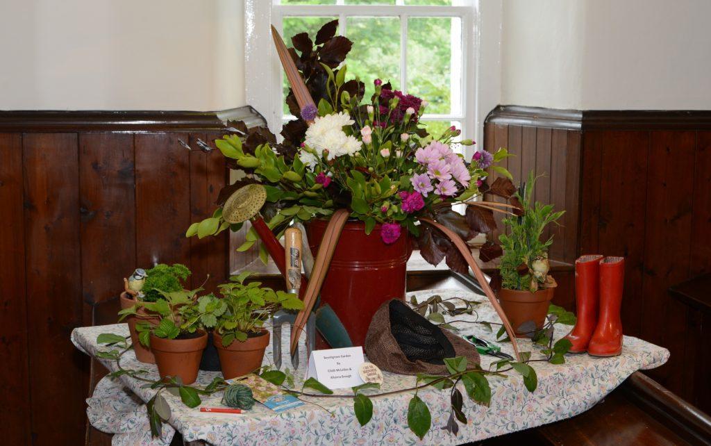 Eilidh McLellan and Allanna Brough's Beechgrove Garden. 25_c25tvtimes01_beechgrovegarden
