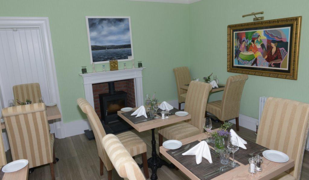 Carradales dining room