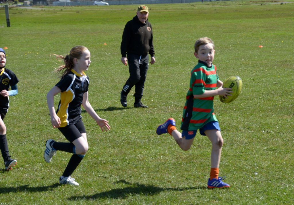 On the way to an Oban try against Mid Argyll