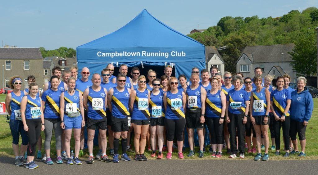 Campbeltown Running Club's finest.