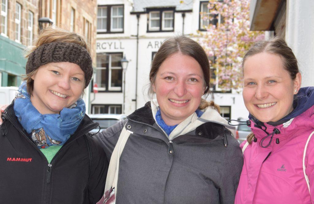 Verena Grill, Michaela Grill and Franziska Kurz.