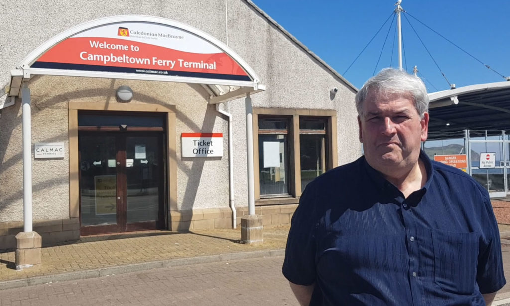 Councillor John Armour, chairman of the Campbeltown ferry committee, spoke to the Courier on Monday.