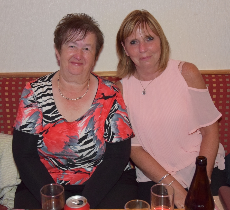 Linda McCallum and Dhonna McCallum joined friends and family at the event.