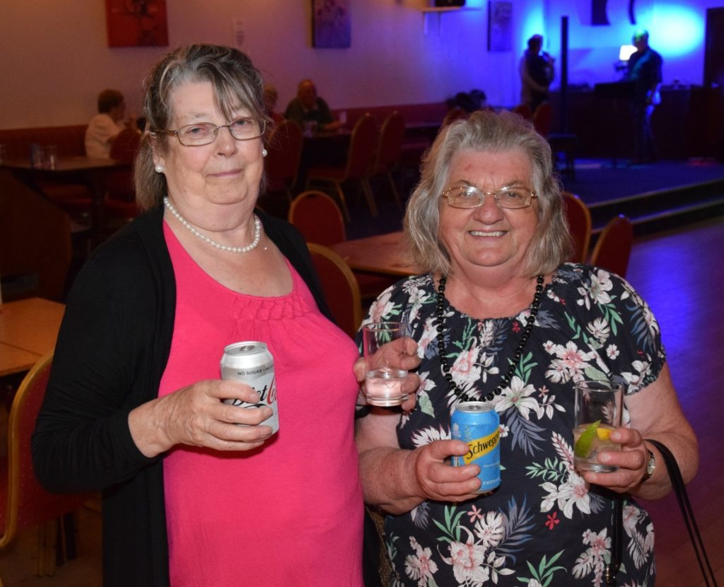 Veronica Martin and Cathy Duncan enjoyed their afternoon.